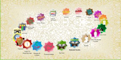 Al-Ustaadh Gold Edition Menu
